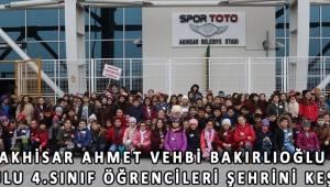 Akhisar Ahmet Vehbi Bakırlıoğlu İlkokulu 4.sınıf öğrencileri şehrini keşfetti