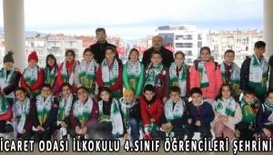 Akhisar Ticaret Odası İlkokulu 4.sınıf öğrencileri şehrini keşfetti!
