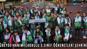 Akhisar Zübeyde Hanım İlkokulu 3.sınıf öğrencileri şehrini keşfetti!