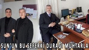 ALİ DURSUN'UN BU SEFERKİ DURAĞI MUHTARLAR OLDU!