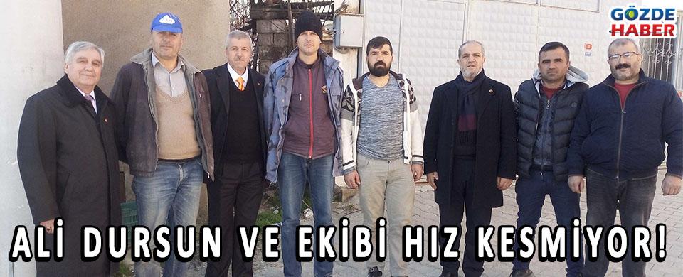 Ali DURSUN VE EKİBİ HIZ KESMİYOR!