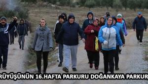 Doğa Yürüyüşünün 16. Hafta Parkuru Doğankaya Parkuru Oldu