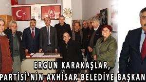 ERGUN KARAKAŞLAR, VATAN PARTİSİ'NİN AKHİSAR BELEDİYE BAŞKAN ADAYI!