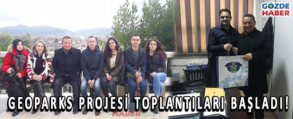 GEOPARKS PROJESİ TOPLANTILARI BAŞLADI!