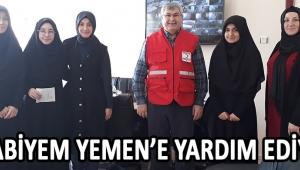 KURABİYEM YEMEN'E YARDIM EDİYOR !