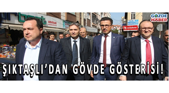 ŞIKTAŞLII'DAN GÖVDE GÖSTERİSİ!