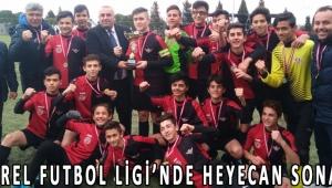 U15 YEREL FUTBOL LİGİ'NDE HEYECAN SONA ERDİ!