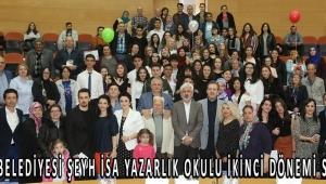 Akhisar Belediyesi Şeyh İsa Yazarlık Okulu ikinci dönemi sona erdi!
