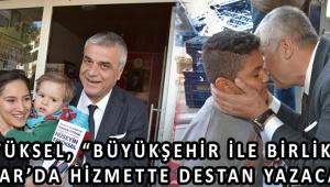 """Eryüksel, """"Büyükşehir İle Birlikte Akhisar'da Hizmette Destan Yazacağız."""""""
