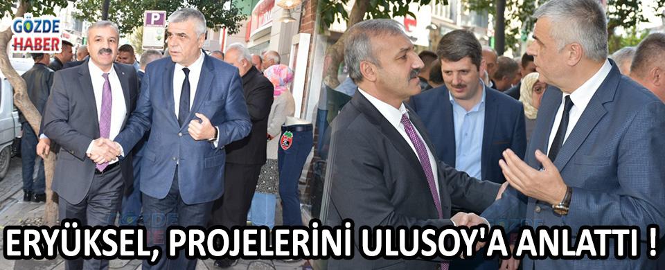 Eryüksel, Projelerini Ulusoy'a Anlattı !