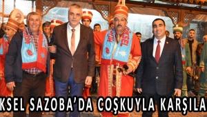 ERYÜKSEL SAZOBA'DA COŞKUYLA KARŞILANDI!