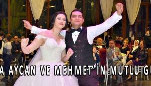 Esma Aycan ve Mehmet'in mutlu günü!