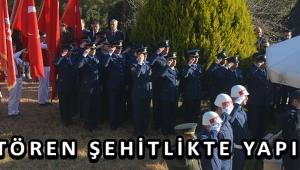 İLK TÖREN ŞEHİTLİKTE YAPILDI!
