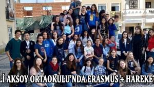 Şehit Ali Aksoy Ortaokulu'nda Erasmus + Hareketliliği