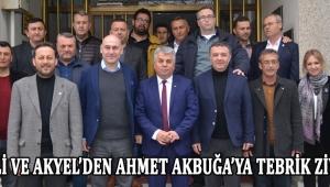 Yürekli ve Akyel'den Ahmet Akbuğa'ya Tebrik Ziyareti