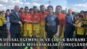23 Nisan Ulusal Egemenlik ve Çocuk Bayramı Futbol Yıldız Erkek Müsabakaları Sonuçlandı…