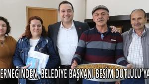 ABZED Derneğinden, Belediye Başkanı Besim Dutlulu'ya ziyaret