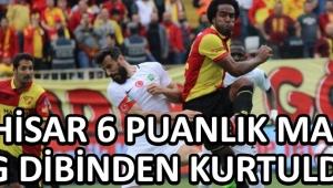 Akhisar 6 Puanlık Maçta Lig Dibinden Kurtuldu !