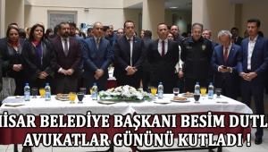 Akhisar Belediye Başkanı Besim Dutlulu, Avukatlar Gününü Kutladı