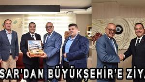 Akhisar'dan Büyükşehir'e Ziyaret