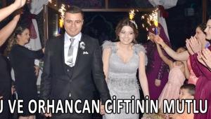 Cansu ve Orhancan ciftinin mutlu günü
