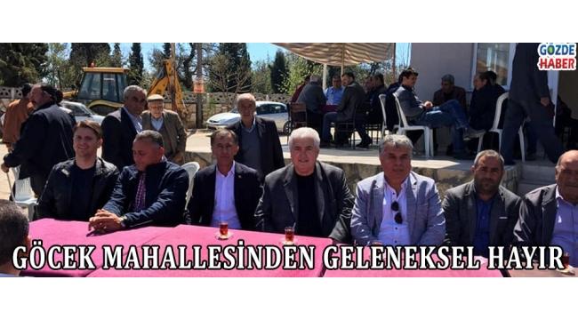 GÖCEK MAHALLESİNDEN GELENEKSEL HAYIR