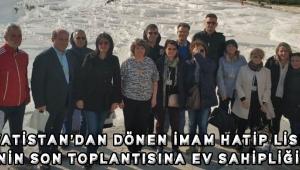 HIRVATİSTAN'DAN DÖNEN İMAM HATİP LİSESİ, PROJENİN SON TOPLANTISINA EV SAHİPLİĞİ YAPTI