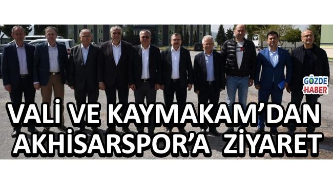 Kaya, Pınar ve Aydemir'den Akhisarspor'a Ziyaret !