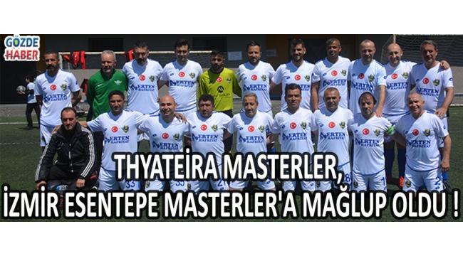 Thyateşra Masterler İzmir Ekibine Mağlup Oldu !