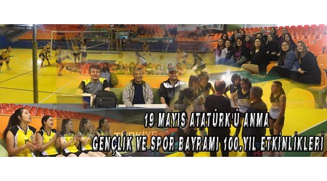 19 Mayıs Atatürk'ü Anma Gençlik ve Spor Bayramı 100.Yıl etkinlikleri