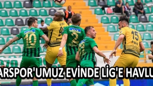 Akhisarspor'umuz Evinde Lig'e Havlu Attı !