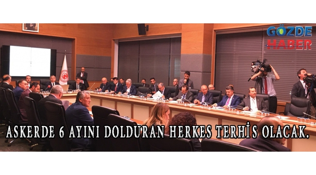 ASKERDE 6 AYINI DOLDURAN HERKES TERHİS OLACAK.!