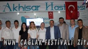 ATSO 'NUN ÇAĞLAK FESTİVALİ ZİYARETİ