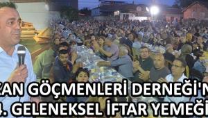 Balkan Göçmenleri Derneği'nden 4. Geleneksel İftar Yemeği !
