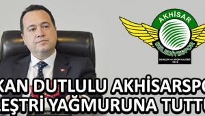 Başkan Dutlulu Akhisarspor'u Eleştri Yağmuruna Tuttu !