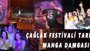 Çağlak Festivali tarihine Manga damgası