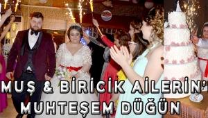 Durmuş & biricik ailerin'den muhteşem düğün