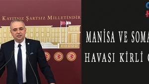 MANİSA VE SOMA'NIN HAVASI KİRLİ ÇIKTI!