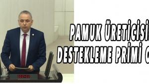 PAMUK ÜRETİCİSİNE DESTEKLEME PRİMİ OYUNU!
