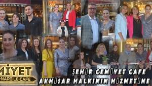 Şehir Cemiyet Cafe Akhisar Halkının Hizmetine Açıldı !