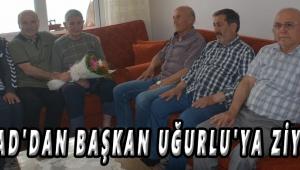 TÜRFAD'DAN BAŞKAN UĞURLU'YA ZİYARET!