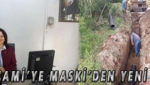 Ulucami'ye MASKİ'den Yeni Hat