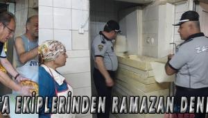 Zabıta ekiplerinden Ramazan denetimi