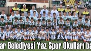 - Akhisar Belediyesi Yaz Spor Okulları başladı