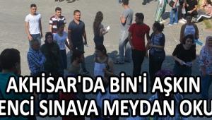 Akhisar'da Bin'i Aşkın Öğrenci Sınava Meydan Okudu !