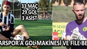 Akhisarspor'a Gol Makinesi ve File Bekçisi !