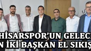 Akhisarspor'un Geleceği İçin İki Başkan El Sıkıştı !