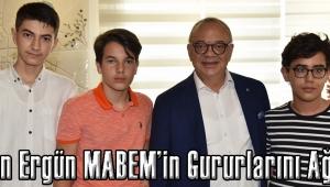 Başkan Ergün MABEM'in Gururlarını Ağırladı