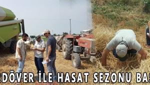 BİÇERDÖVER İLE HASAT SEZONU BAŞLADI