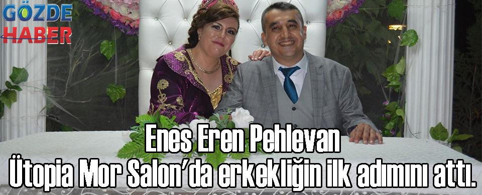 Enes Eren Pehlevan Ütopia Mor Salon'da erkekliğin ilk adımını attı.